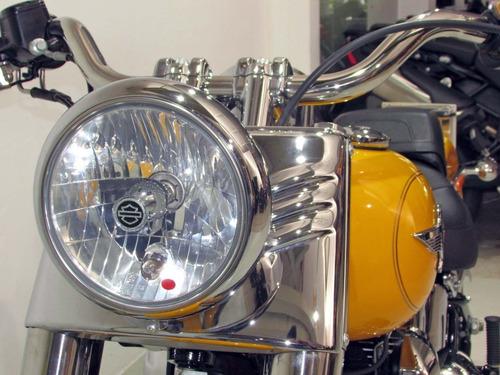 harley davidson - fat boy - 2012 amarela