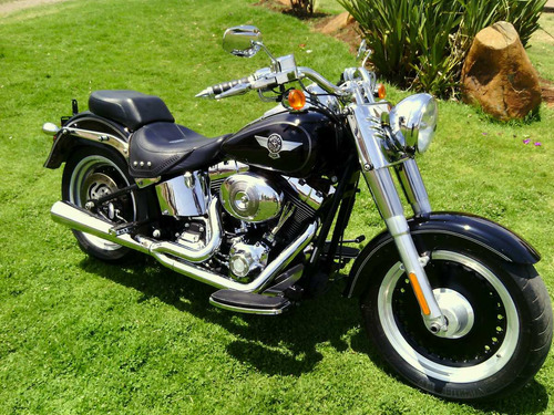 harley davidson fat boy motos
