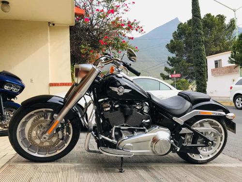 harley-davidson fatboy  motor 107   2019 nueva