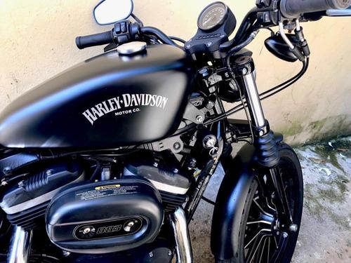 harley davidson iron 883 black 2014 de oportunidad