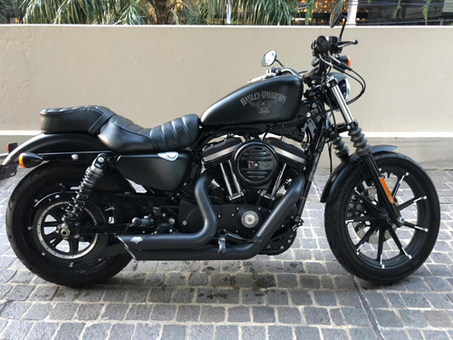 harley-davidson iron 883, con vance and hines permuto