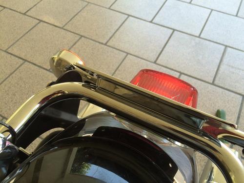 harley davidson portaplaca touring bajo tourpack mod. 97-08