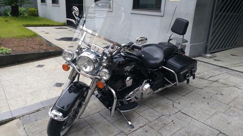 harley davidson road king 2013 abs muito nova troco moto fin