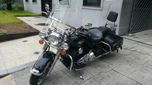harley davidson road king classic 2013 muito nova troco moto