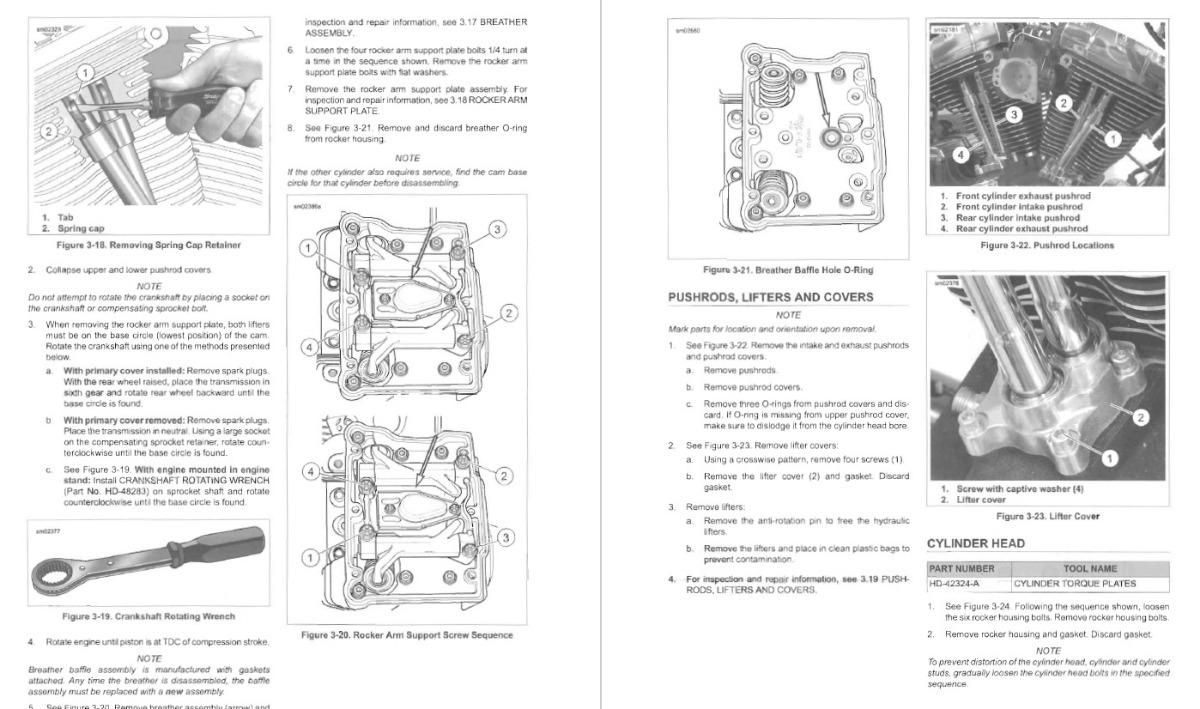 Harley-davidson Softail 2014 Manual De Servicio