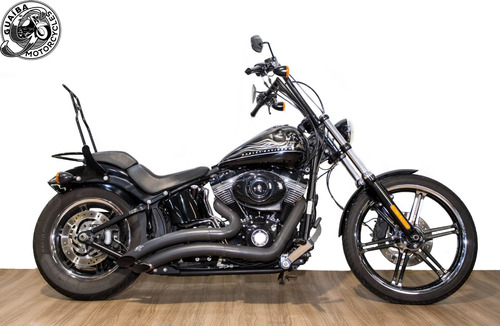 harley davidson - softail blackline customizada