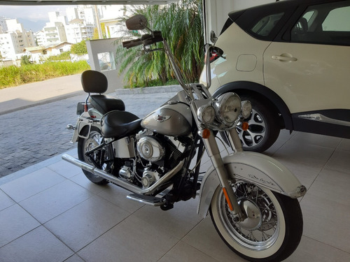 harley davidson softail deluxe 2008 - único dono