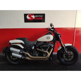 Harley Davidson Softail Fat Bob 114 Fx Fbs Abs 2018 Branca