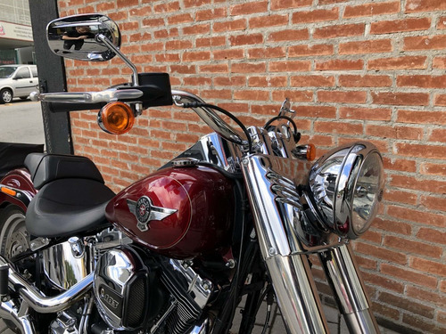 harley davidson softail fat boy 2017 impecável