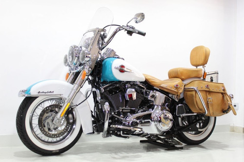 harley davidson - softail heritage classic - 2017 azul