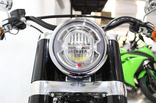 harley davidson softail slim 2019 preta - motor 107