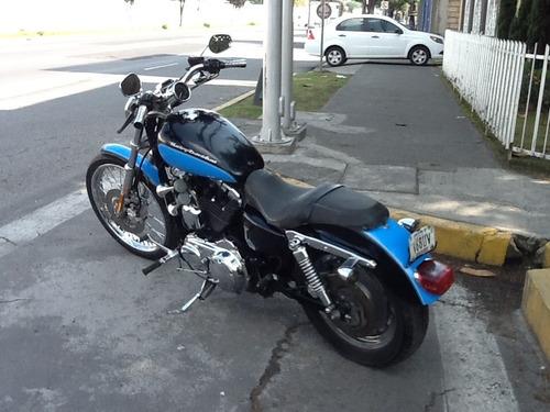 harley davidson sportster custom 1200cc, modelo. 2007.
