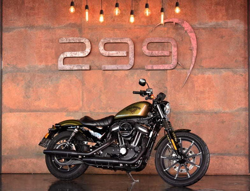 harley-davidson sportster iron xl 883n - 2017/17 e 1.600kms!