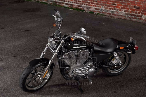 harley-davidson sportster superlow® 0km color vivid black