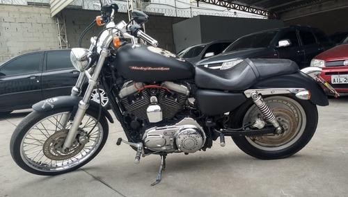 harley-davidson sportster xl 883 custom (com kit 1200cc)