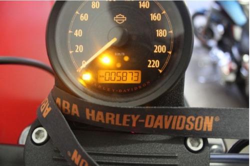 harley davidson sportster xl 883 n iron 2016 preta preto