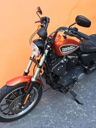 harley-davidson sportster xl 883 r 2011 - laranja