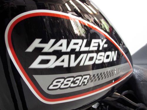harley-davidson sportster xl 883 r   2011 preta