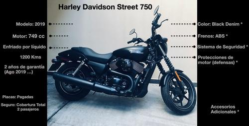 harley davidson street 750 - 2019