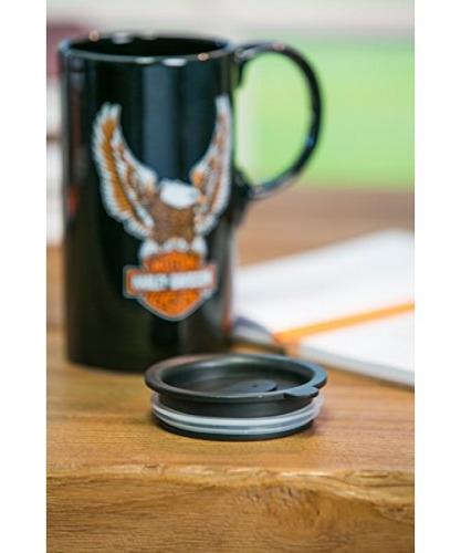 9495c7b4b31 Harley-davidson Travel Latte Mug, Bar & Shield Eagle Tall ...