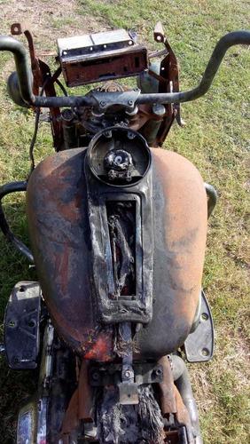 harley davidson ultra glide 2012 accidentada toda o partes
