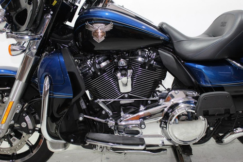 harley davidson ultra limited 115 th anniversary 2018 azul
