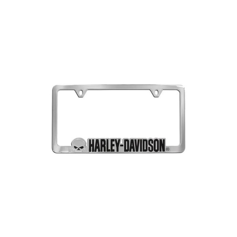 Harley-davidson Willie G. Marco De Placa De Cráneo Chrome Hd ...