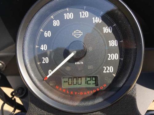 harley-davidson xl 1200ns iron zero! apenas 130 km!
