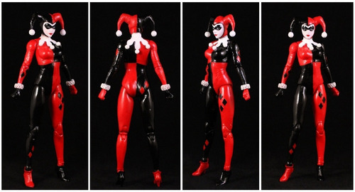 harley quinn: arkham knight. serie 4. dc collectibles. 2016.