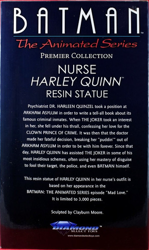 harley quinn nurse - batman animated series - estátua
