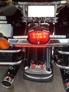 harley ultra classic 2007 mucho cromo y personalizada. 103