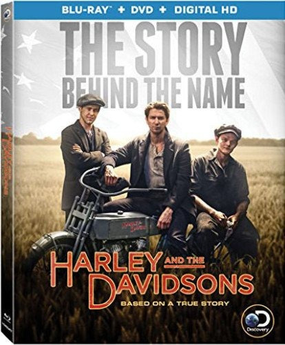 harley y the davidsons [blu-ray + dvd + digital hd]