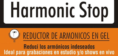 harmonic stop gel quita armonicos para bateria 6 unidades