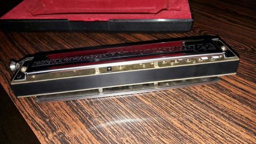 harmonica hohner 64chromonica cambio x guitarra o venta