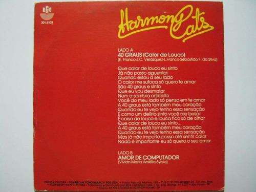 harmony cats compacto 40 graus