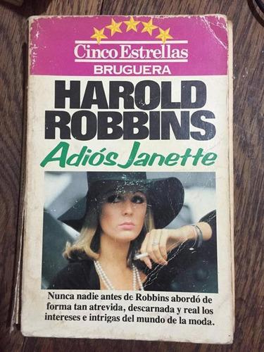 harold robbins. adiós janette