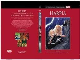 harpia 28  marvel salvat capa vermelha