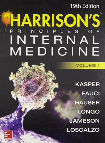 harrison principios de medicina interna en inglés 19th ed.