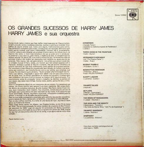 harry james lp 1975 os grandes sucessos 13337