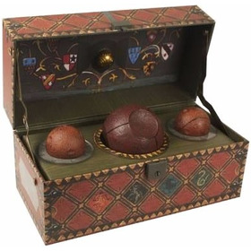 Harry Potter - Baú De Quadribol - Box Quidditch Set Jogo