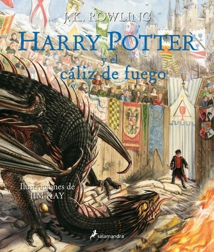 harry potter 4 - el cáliz de fuego - ilustrado - rowling