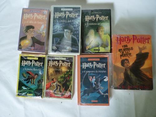 harry potter 7 libros colección completa
