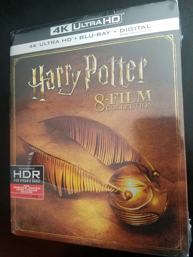Harry Potter 8 Film Collection 4k + Blu-ray Sellado