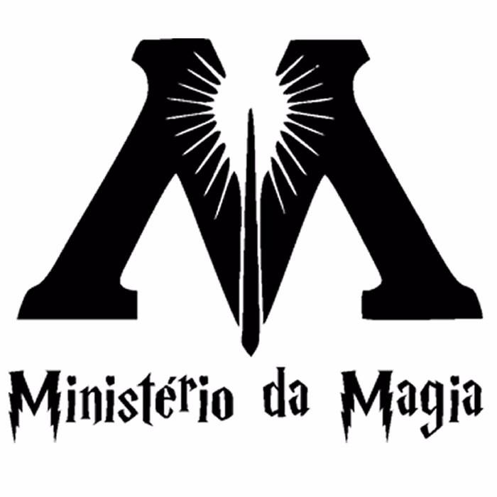Aparador Estreito Branco ~ Harry Potter Adesivo De Parede Ministério Da Magia R$ 9