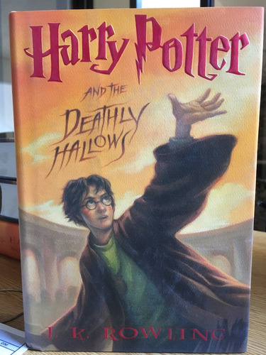 harry potter and the deathly hallows - en ingles - tapa dura