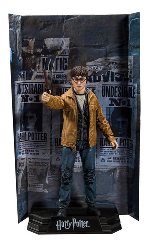 harry potter and the deathly hallows harry potter mcfarlane