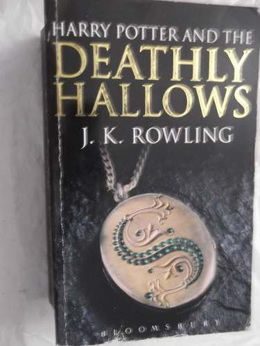 harry potter and the deathly hallows j k rowling bolsillo