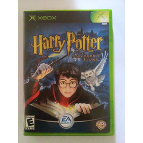 Harry Potter And The Sorcerers Stone Xbox Original Filosofal