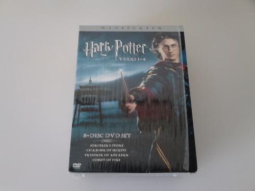 harry potter año 1 al 4 pack importado 2 dvds por película