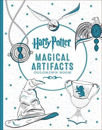 Harry Potter Artefactos Mágicos Libro Para Colorear - $ 89.900 en ...